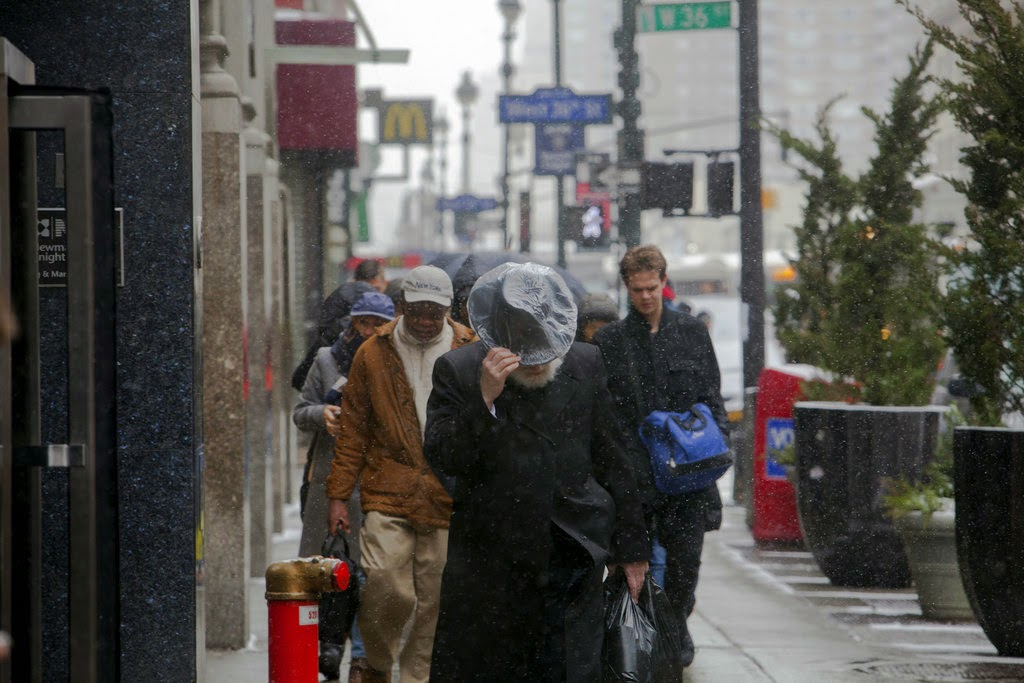 NYT Travel Bans in Place as Northeast Braces for Blizzard